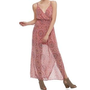 NWT Lily Rose Floral Maxi Dress